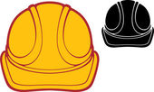 Construction workers hard hat — Stock Vector