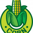 Постер, плакат: Corn label corn symbol corn sign corn badge