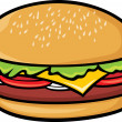 Hamburger — Stock Vector #26877287