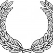Laurel wreath vector — Stock Vector