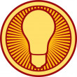 Royalty-Free Stock Vector Image: Light bulb Icon