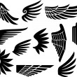 Wings collection ( — Stock Vector
