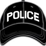 Police baseball cap — Stock Vector #26877575