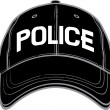Police baseball cap — Stock Vector #26877575