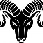 Head of the ram — Stock Vector #26877599