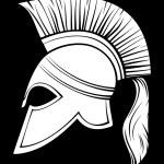 Постер, плакат: Spartan helmet