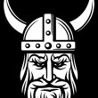 Stock Vector: Viking head