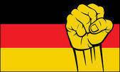 Germany fist — Stock Vector