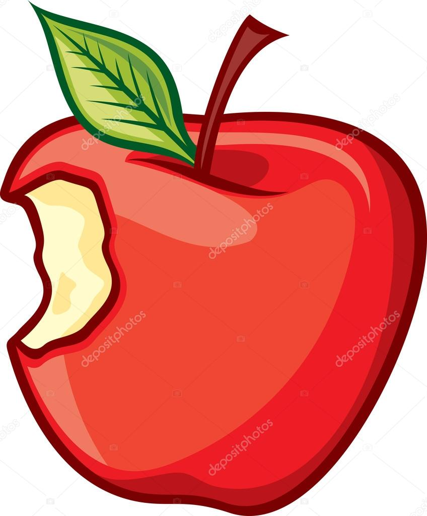 rojo manzana mordida vector de stock 26876725 apple vector logo sketch apple logo vector svg