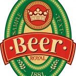 Beer label design — Stock Vector #26979133