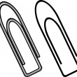 Paper clip — Stock Vector #26979649