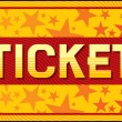 Ticket vector — Vettoriale Stock #27034775