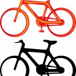 Stock Vector: Bicycle