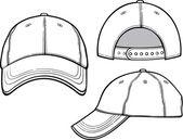 野球帽 — ストックベクタ