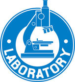 Laboratory label — Stock Vector