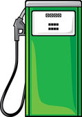 Petrol station — Stockvector