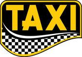 Такси символа — Cтоковый вектор