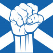 Scotland flag — Stockvectorbeeld