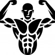 Bodybuilder — Stock Vector #27257795