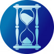 Sand clock (hourglass) — Stock Vector