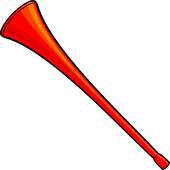 Vuvuzela — Stock Vector