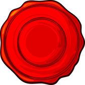 Cachet de cire — Vecteur