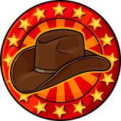 Cowboy hat — Stock Vector