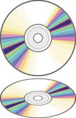 Vector CD (Compact disc) — Stock Vector