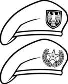 Military beret — Stock Vector