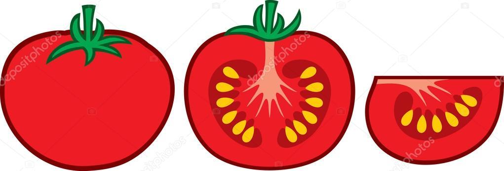 西红柿灯笼手绘
