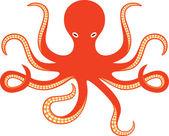 Octopus ocean — Stock Vector