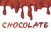Fond chocolat — Vecteur