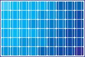 Solar panels design — Stock Vector
