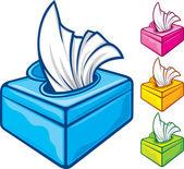 纸巾盒 — 图库矢量图片