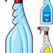 Cleaning spray bottle — Stock Vector #32809827