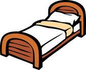 Vector bed — Stock Vector