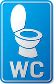 Wc sign — Stockvector