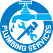 Repair plumbing symbol — Stockvectorbeeld