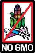 No GMO label — Stock Vector