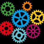 Growing gears — Stock Vector #39398981