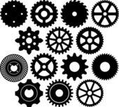 Gear collection — Stock Vector