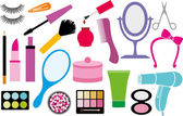 Make up collection — Stock Vector