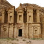 Monastery, Petra, Jordan — Stock Photo