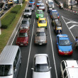 Stock Photo: Heavy traffic