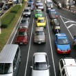 Stockfoto: Heavy traffic
