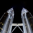 Petronas towers, KL, Malaysia — Stock Photo