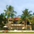 Small hotel in tropics — Stockfoto #12608868