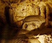 Formacje skalne w jaskini — Zdjęcie stockowe