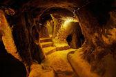 Cave city, Derinkuyu, Turkey — Stock Photo