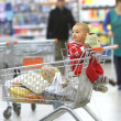 Stock Photo: Baby in supermarket